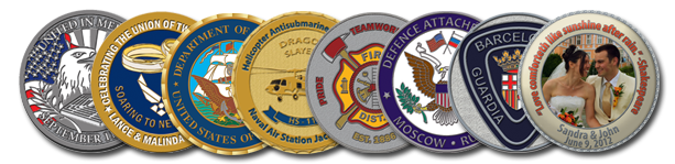 Firefighter Custom Coins